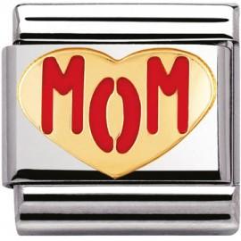 Maillon Nomination classic mom coeur