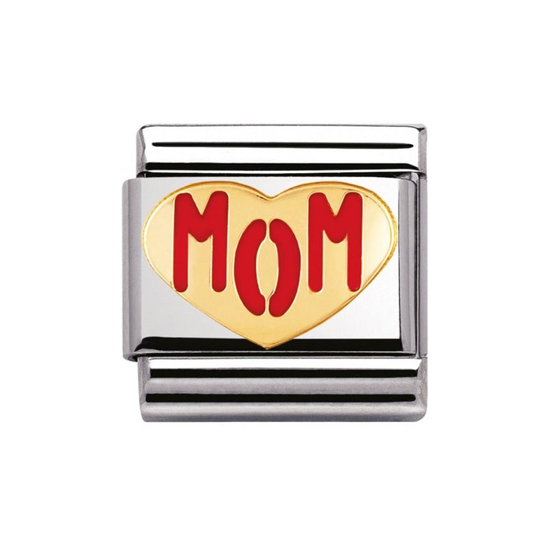 Maillon Nomination classic mom coeur