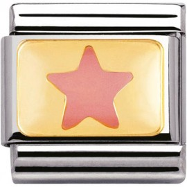 Mailllon Nomination classic étoile rose