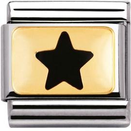 Maillon Nomination classic étoile noire