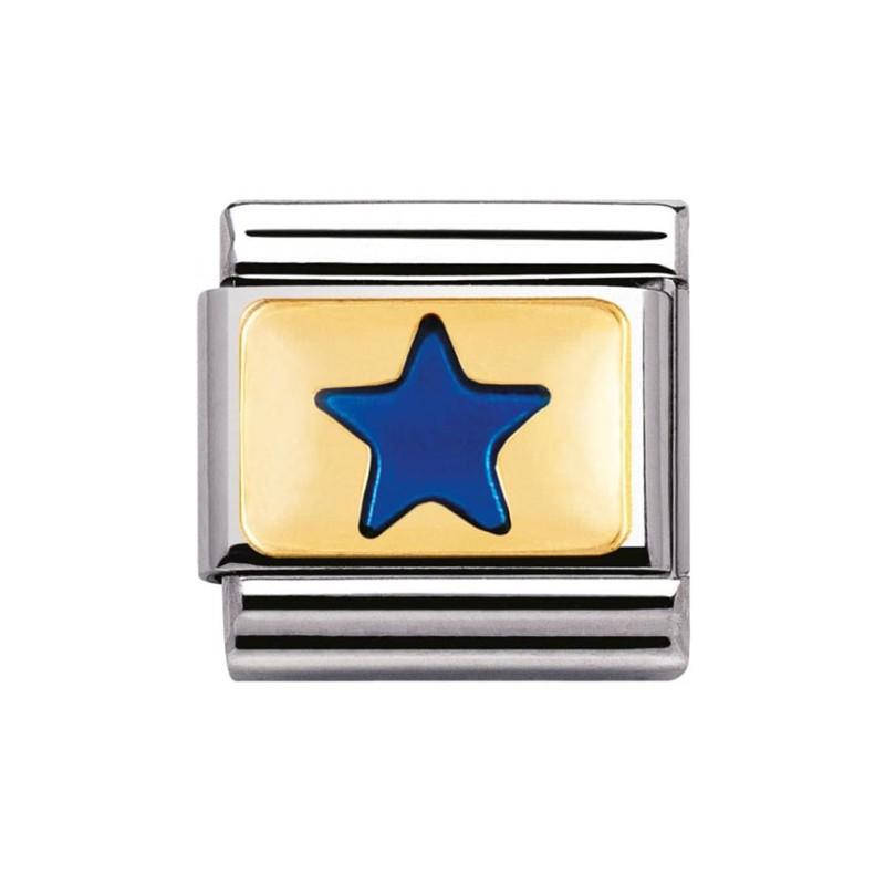 Mailllon Nomination classic étoile bleue