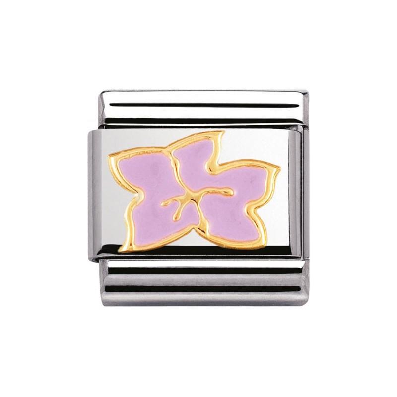 Maillon Nomination classic hibiscus