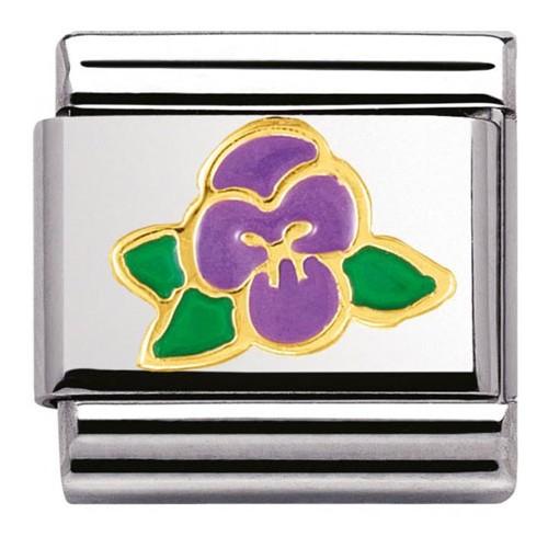 Maillon Nomination classic violette