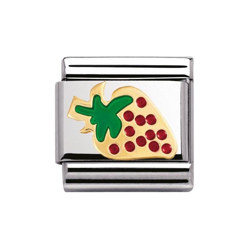 Maillon Nomination classic fraise