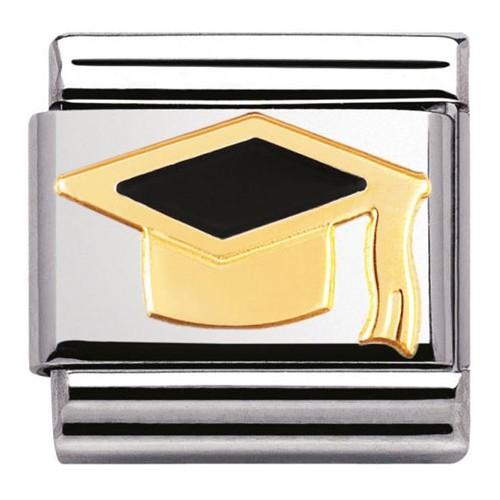 Maillon Nomination classic chapeau diplôme