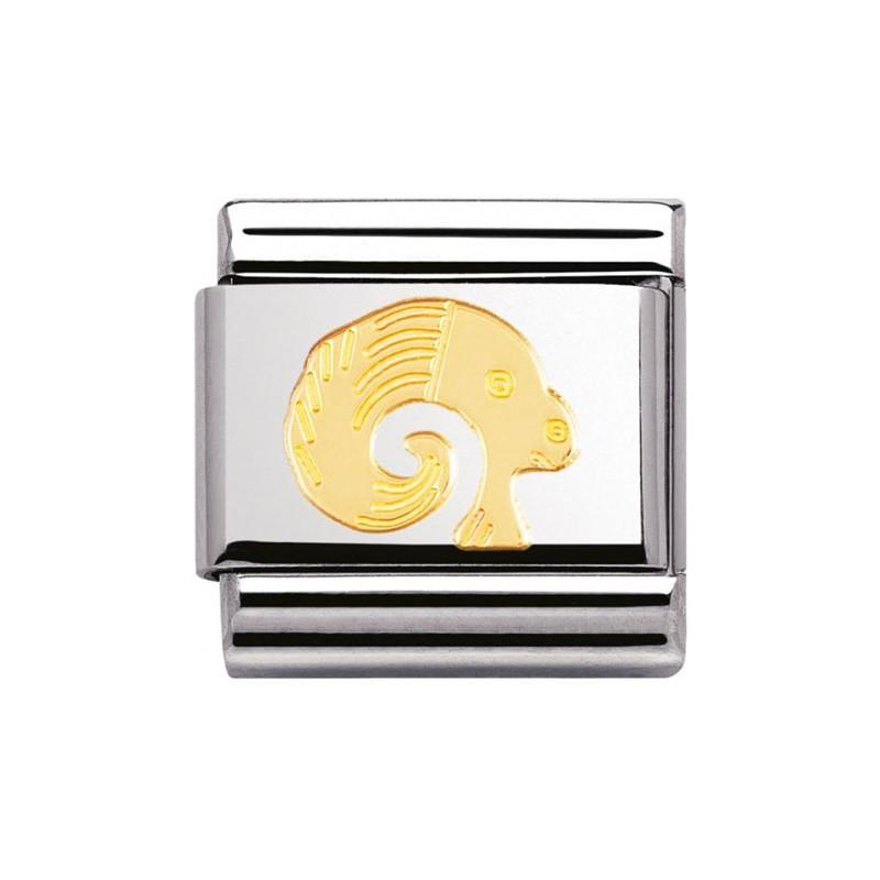 Maillon Nomination classic signe du zodiaque Bélier