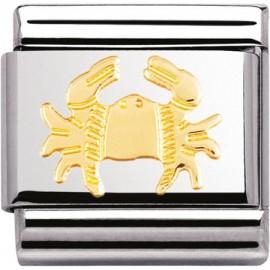 Maillon Nomination classic signe du zodiaque Cancer