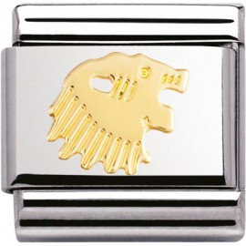 Maillon Nomination classic signe du zodiaque Lion