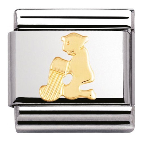 Maillon Nomination classic signe du zodiaque Verseau