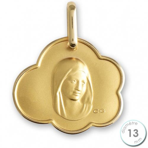 Médaille de baptême Vierge en Or