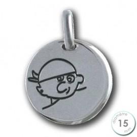 Médaille Little Pirate en Argent
