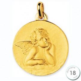 Médaille de baptême Ange en Or