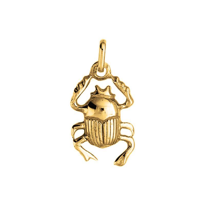 Pendentif scarabé Or jaune
