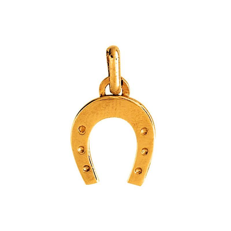 Pendentif fer à cheval en Or jaune