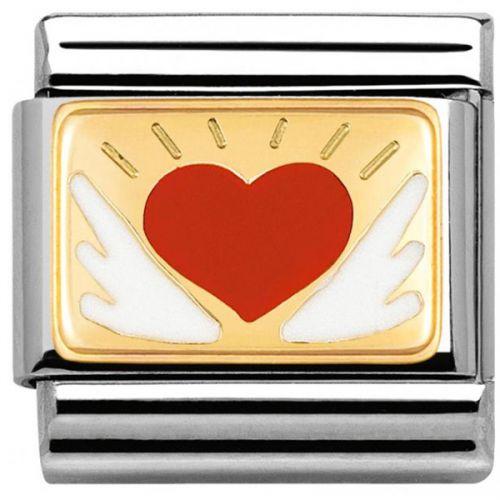 Maillon Nomination classic coeur entre tes mains