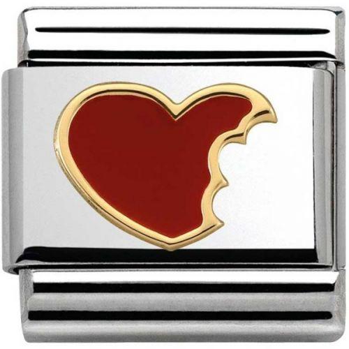 Maillon Nomination classic coeur à croquer