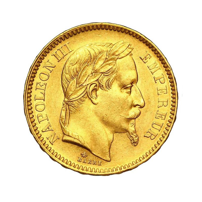 Piece Or 20 Francs Napoleon