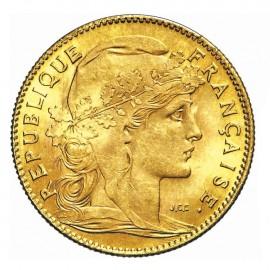 Pièce Or 10 Francs Marianne