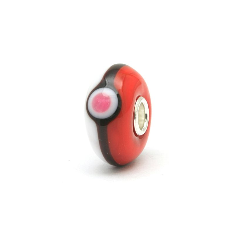 Perle en verre Trollbeads spéciale Pokemon