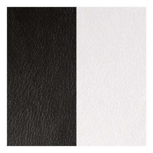 Cuir reversible les Georgettes Noir/blanc