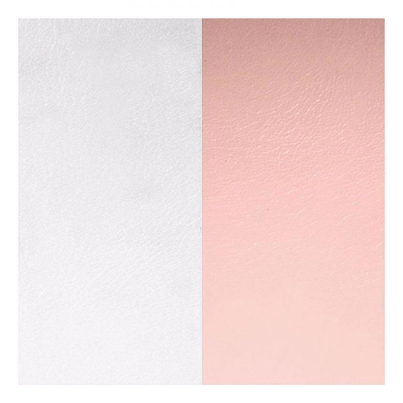 Cuir reversible les Georgettes gris/rose clair