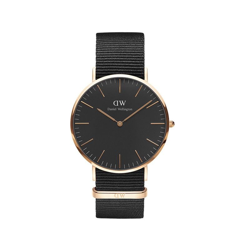 Montre homme Daniel Wellington Black Cornwall