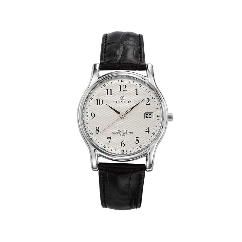 bracelet cuir noir montre