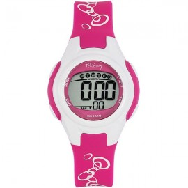 Montre enfant Tekday digitale rose
