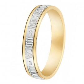 Alliance de mariage 2 Ors romaine