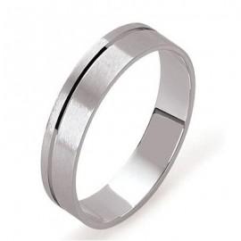 Alliance de mariage Platine