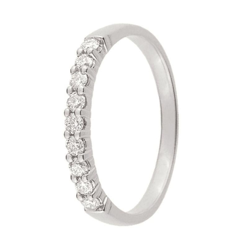 Alliance De Mariage Or Blanc Et Diamant 11770921