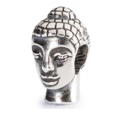 Perle tête de Bouddha Trollbeads en Argent