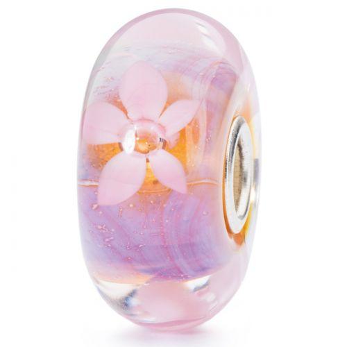 Perle en verre anémone de mer Trollbeads