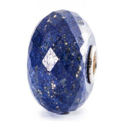 Perle en verre lapis lazuli Trollbeads