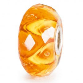 Perle en verre enchantement lumineux à facettes Trollbeads