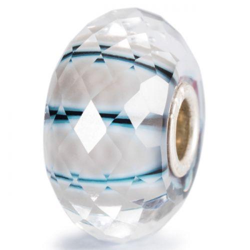 Perle en verre rayon de lune à facettes Trollbeads