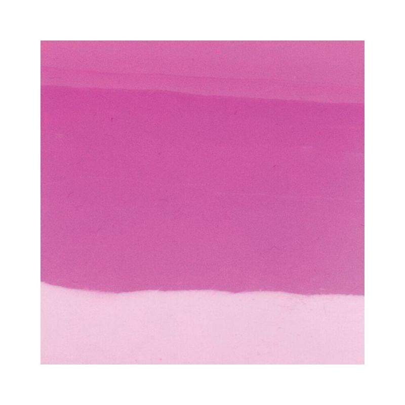 Vinyle de bague translucide les Georgettes cristal/rose fluo