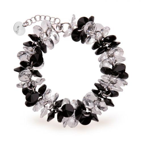 Bracelet Spark Argent et cristaux de Swarovski