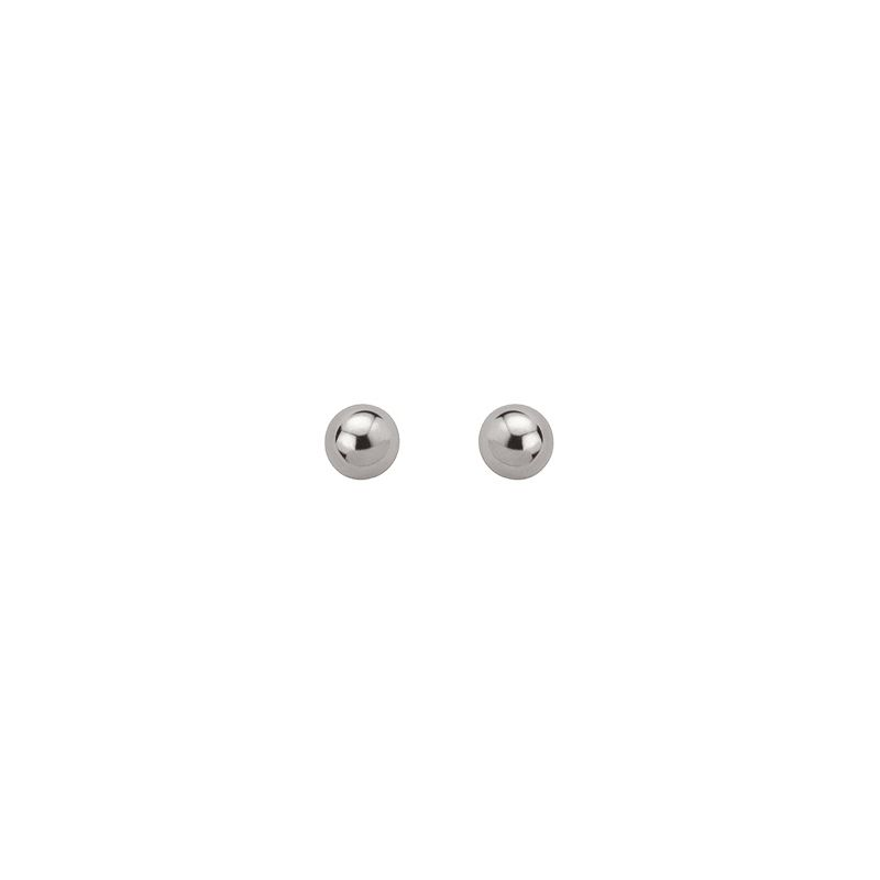 Boucles d'oreilles boules Argent diamètre 6 mm