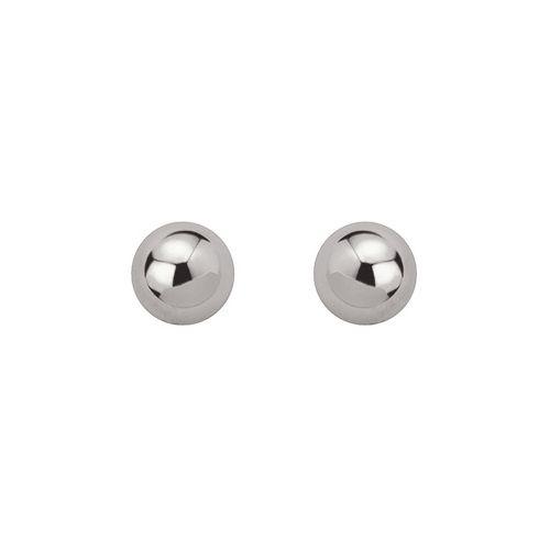 Boucles d'oreilles boules Argent diamètre 8 mm