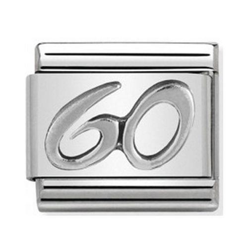 Maillon Nomination classic 60 en Argent