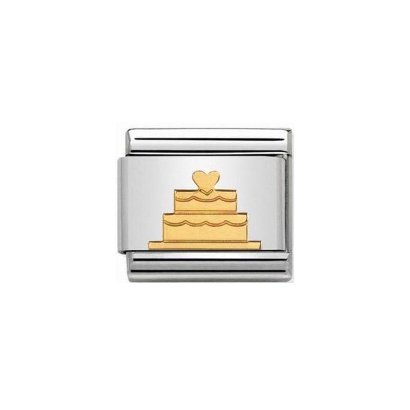 Maillon Nomination classic gateau en Or