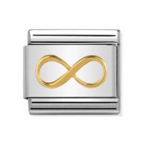 Maillon Nomination classic symbole infini en Or