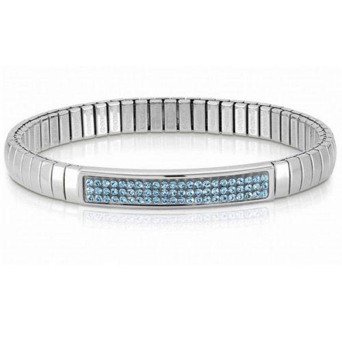 Bracelet Nomination extensible Glitter avec cristaux Swarovski bleus