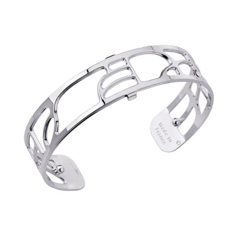 Bracelet manchette Les Georgettes motif volute finition Argent small