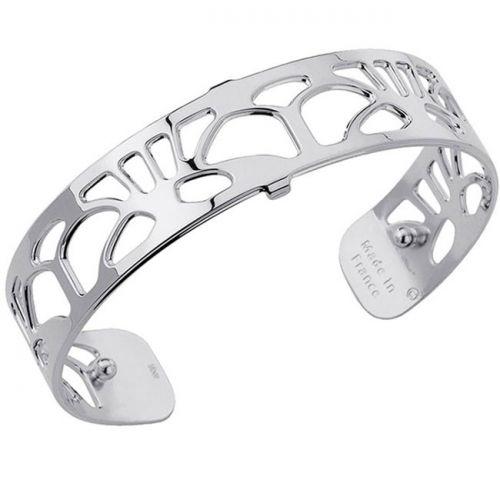 Bracelet manchette Les Georgettes motif arcade finition Argent small
