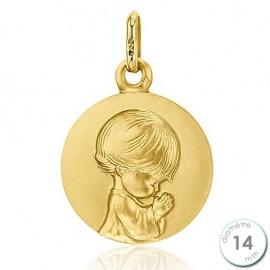 Médaille Laïque en Or - Augis
