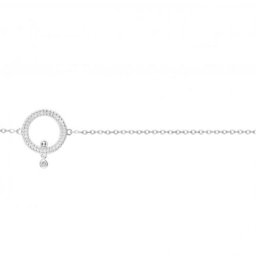 Bracelet Argent et Diamant La Garçonne