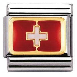 Maillon Nomination classic drapeau Suisse