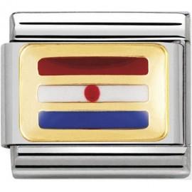 Maillon Nomination classic drapeau Croatie